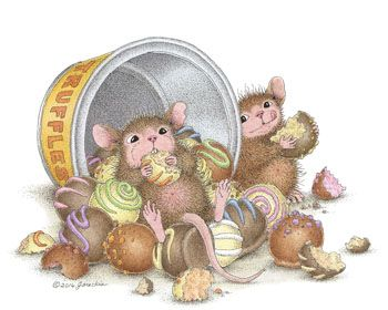 Mudpie & Maxwell from House-Mouse Designs®. Click on the image to see all of the very mice products that this image is available on.