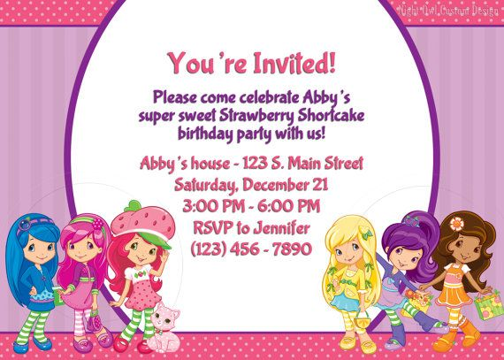 65 best strawberry shortcake party images on pinterest birthdays items similar to direct sales consultant party invitation diy digital file on etsy stopboris Choice Image