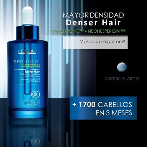 L'oreal Serioxyl, 1.700 cabellos en 3 meses. #crecicimiento #serioxyl http://bit.ly/1rH4iJJ