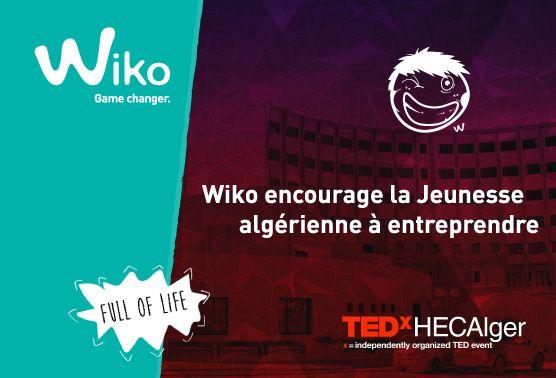 Wiko partenaire de TEDx HECAlger