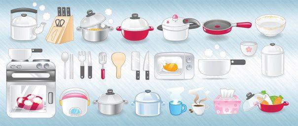 Кухонные предметы на английском языке / Неформальный Английский