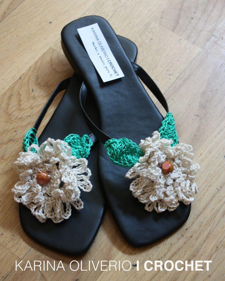 Crochet in your feet, pattern.