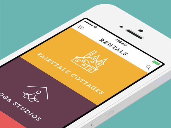 Mobile Animations & Interactions on App Design Served
