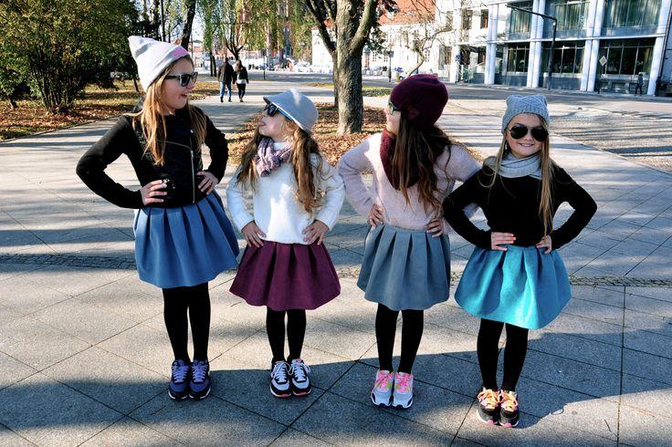 Spódniczki MAURO, ALICE, GIS i OPAL <3 nasze ulubione! www.kids.stoneskirts.pl