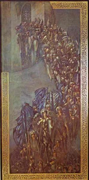 The Fall of Lucifer, 1894 - Edward Burne-Jones
