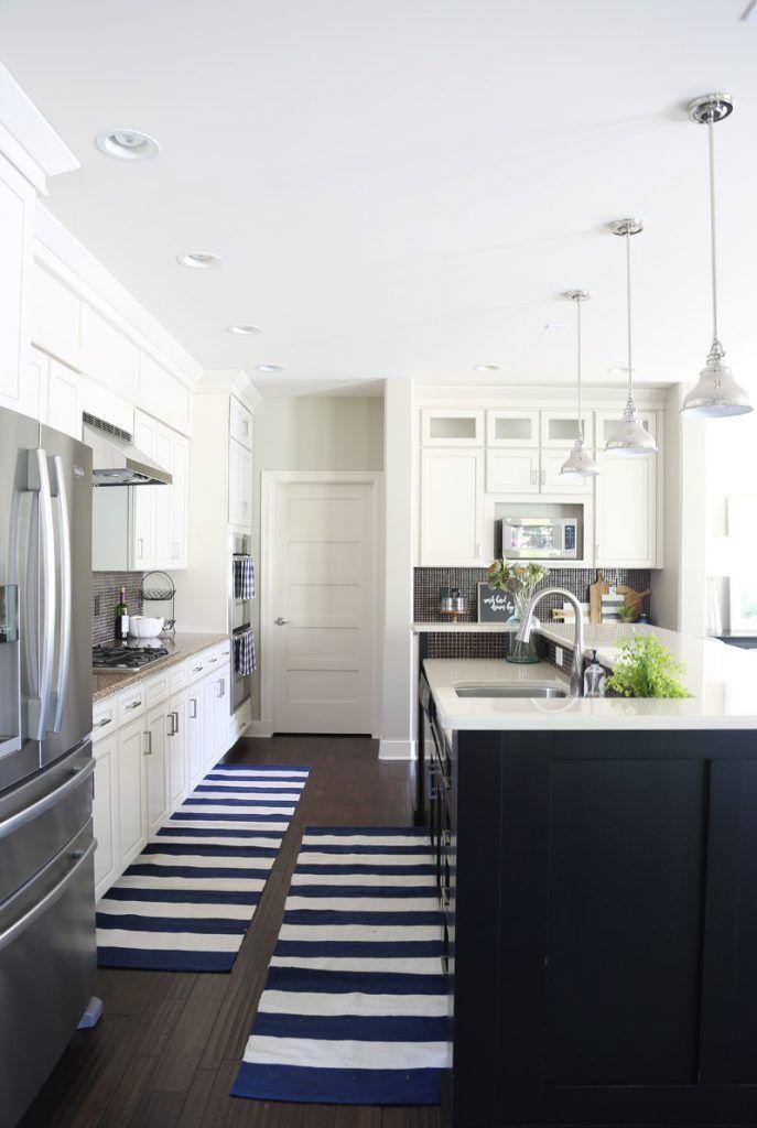 White Kitchen Black Island 1584 best kitchens images on pinterest | kitchen ideas, farmhouse