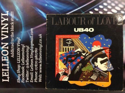 The Best Of UB40 Labour Of Love LP LPDEP5 A1U/B2U 80's Reggae Ali Campbell Music:Records:Albums/ LPs:Reggae/ Ska:Roots