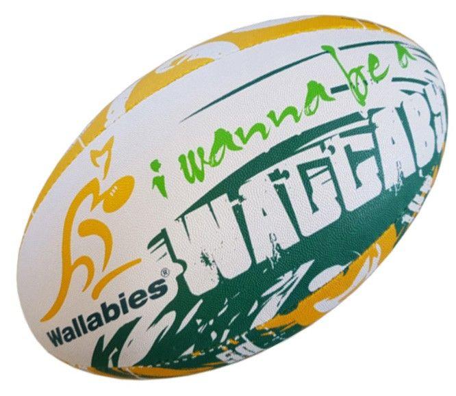Wallabies Gilbert Rugby Ball Size 5