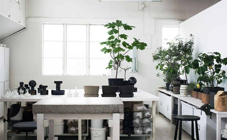 Carina Seth Andersson studio styled by Lotta Agaton | Ollie & Sebs Haus
