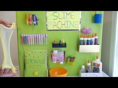 Slime Machine Diy Creative Home Made Slime Factory Youtube