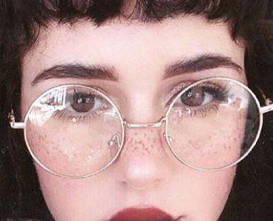 Retro Clear Lens Round Frame Glasses