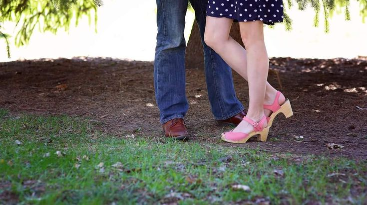 Pink High-heeled Clogs For Women