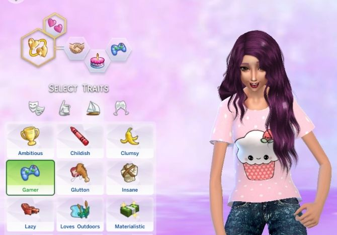 Gamer Trait by pastel-sims at Mod The Sims via Sims 4 Updates  http://www.ezgamehacker.com