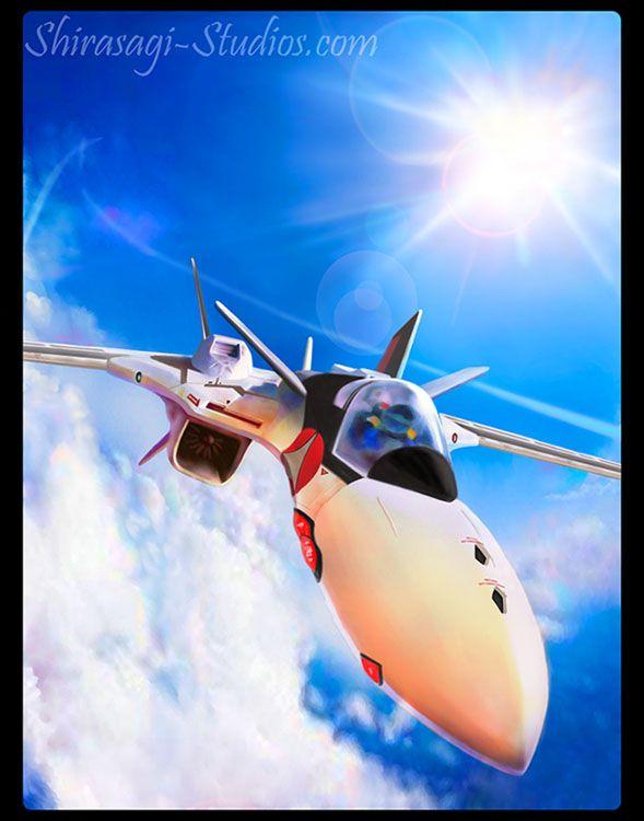 Macross Plus YF-19 by ~Shirasagi on deviantART