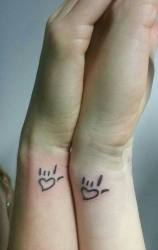 Bestie matching tattoo, friendship tattoo freedom tattoo