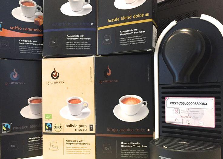 NESPRESSO ALTERNATIVE COFFEE CAPSULES  GOURMESSO   Review and test   Umilk #lyoness