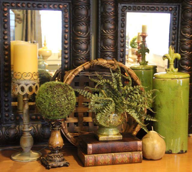 Savvy Seasons By Liz: Bringing Tuscany To The Family Room