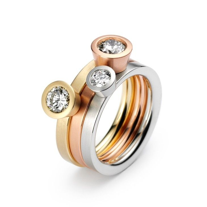 Niessing - Lumen Diamond Engagement Rings - ORRO Contemporary Jewellery Glasgow