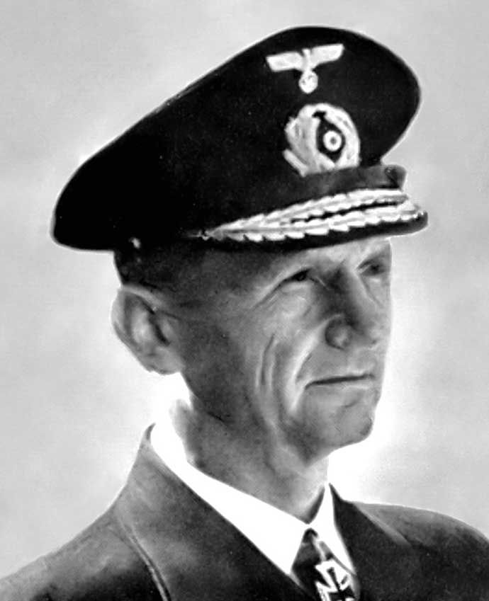 Hitler's Inner Circle:  Karl Donitz -- Commander of the German Navy's U-boats until 1943, then took over from Raeder as Commander-in-Chief of the German Navy and was promoted to Grand-Admiral.
