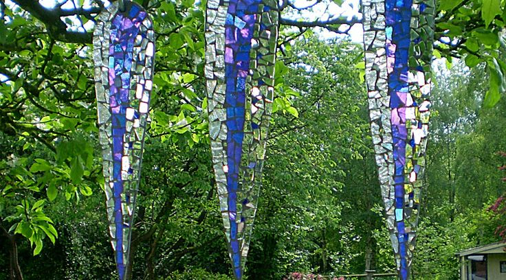 The homepage of Katie Green Mosaics, handmade mosaics art sculptures.