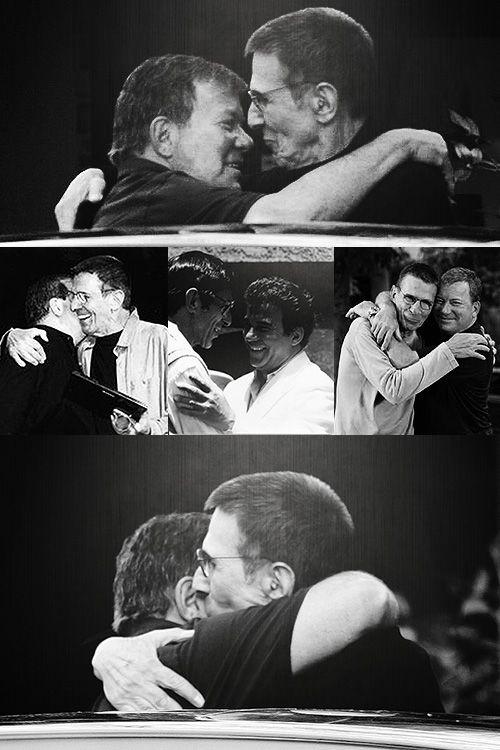 Star Trek ~ real men do real hugs!