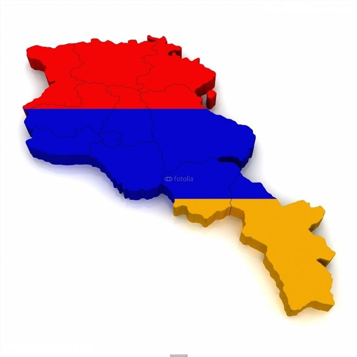 3D Map of Armenia poster 71 best