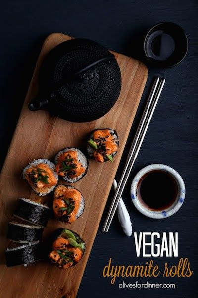 9 Vegan Sushi Recipes So Good You Can Finally Give Up Seafood - ChooseVeg.com
