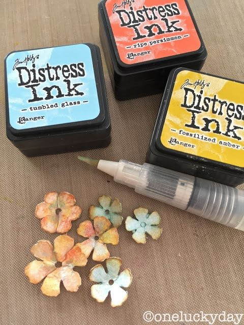 One Lucky Day - new Distress Crayon ideas - tutorial