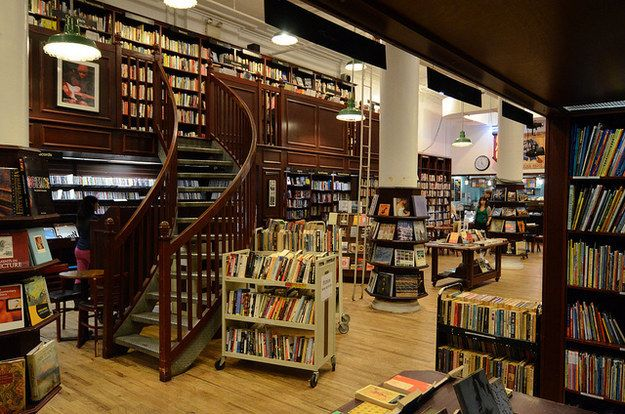 Housing Works Bookstore Cafe | Community Post: 14 New York City Bookstores You Should Visit Before You Die