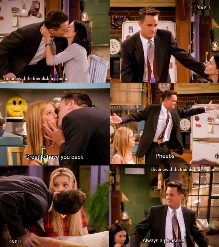 24 Of The Best Monica And Chandler Moments From