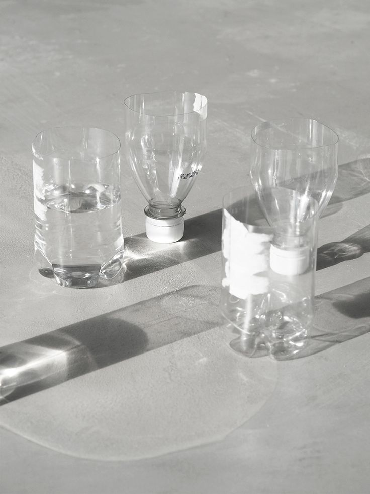 plastic bottle turns wine glass / via Love Aesthetics