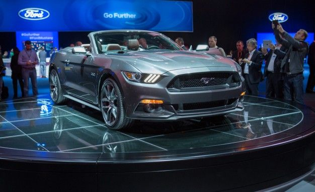 2015 Mustang Revealed – 50th Anniversary of Ford's Famous Muscle Car