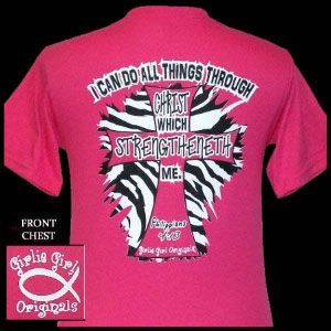 girly+girl+originals+t+shirts | Southern Tshirts - Girlie Girl Originals John 3:16 Safety Pink T-shirt