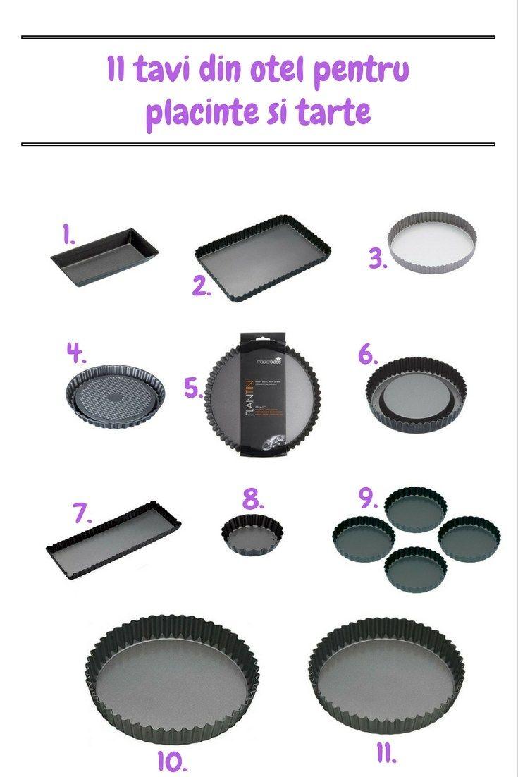11 tăvi din oțel pentru plăcinte și tarte - Furnish.ro