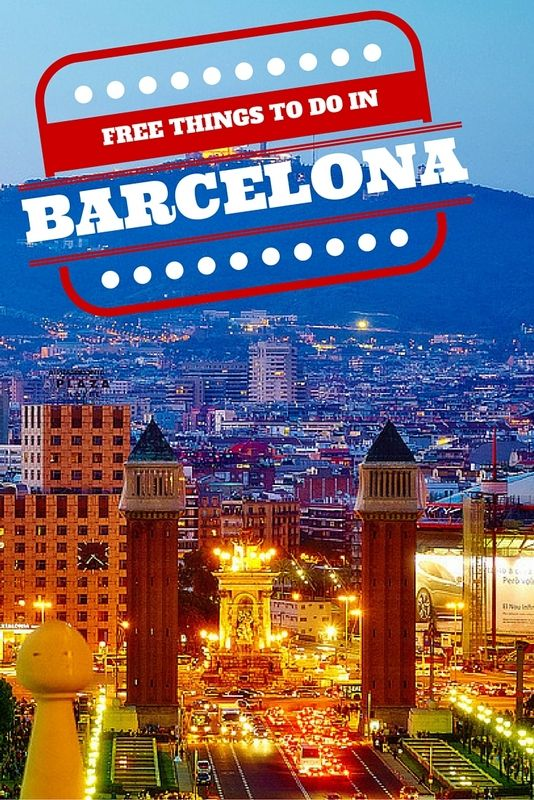 A trip to Barcelona doesn't have to break the bank ... check out these free things to do :) Photo by Moyan Brenn.