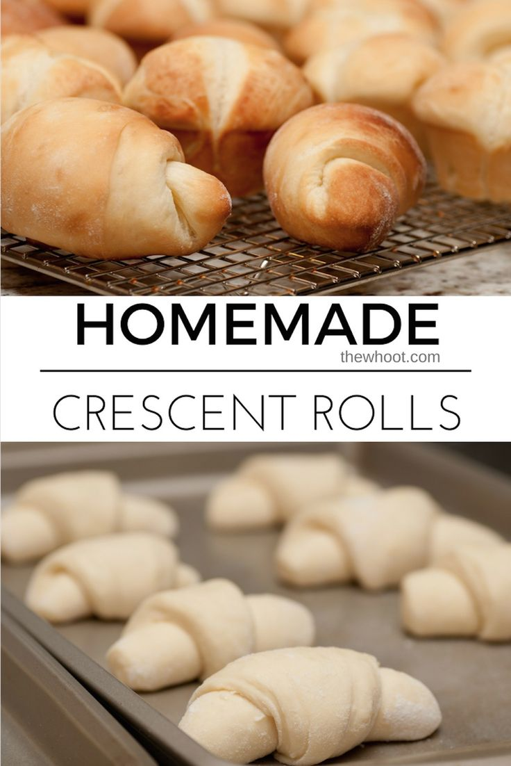 You will love this Homemade Crescent Rolls Recipe that is the copycat Pillsbury version. Watch the video tutorial to see how easy it is to make.