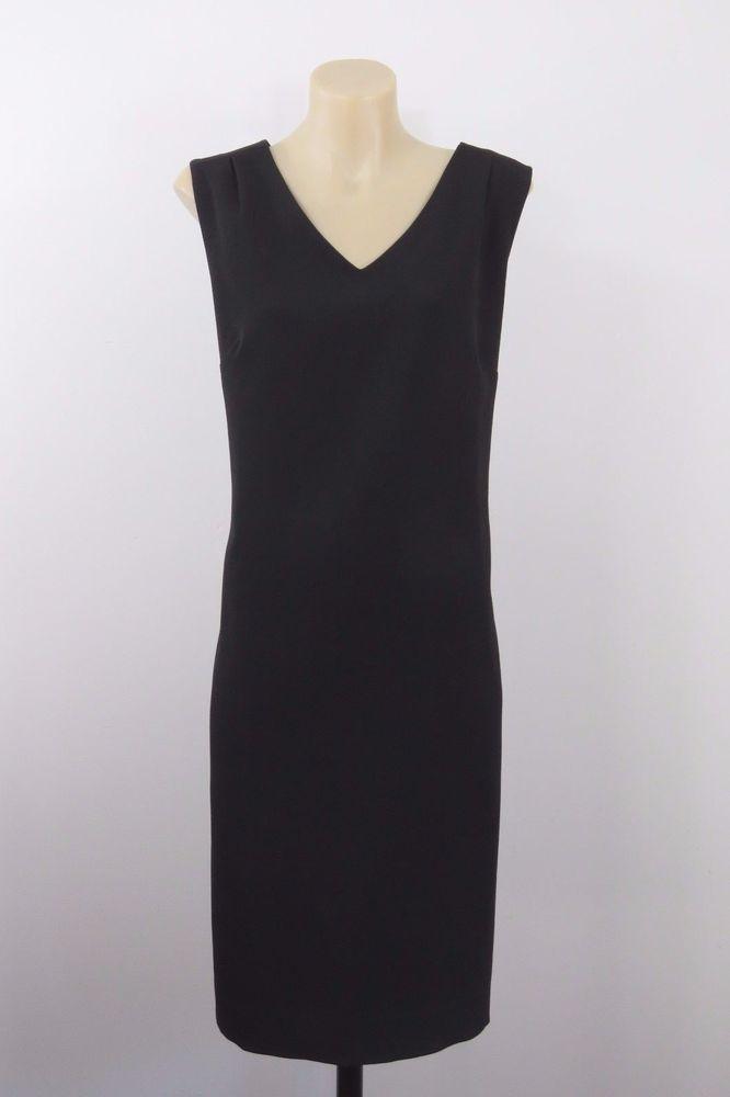 Size M 12 NNT Ladies Black Dress Business Work Cocktail Chic Corporate Design #NNT #ShiftDress #WeartoWork