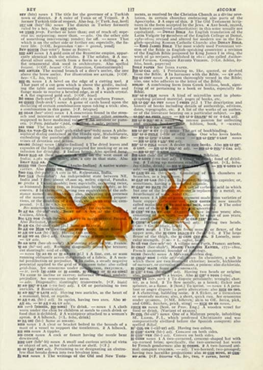 Goldfish. I LOVE this idea!!!...
