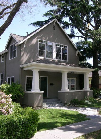 House exterior colors grey stucco 68+ Ideas #house #exterior #hausstreichen