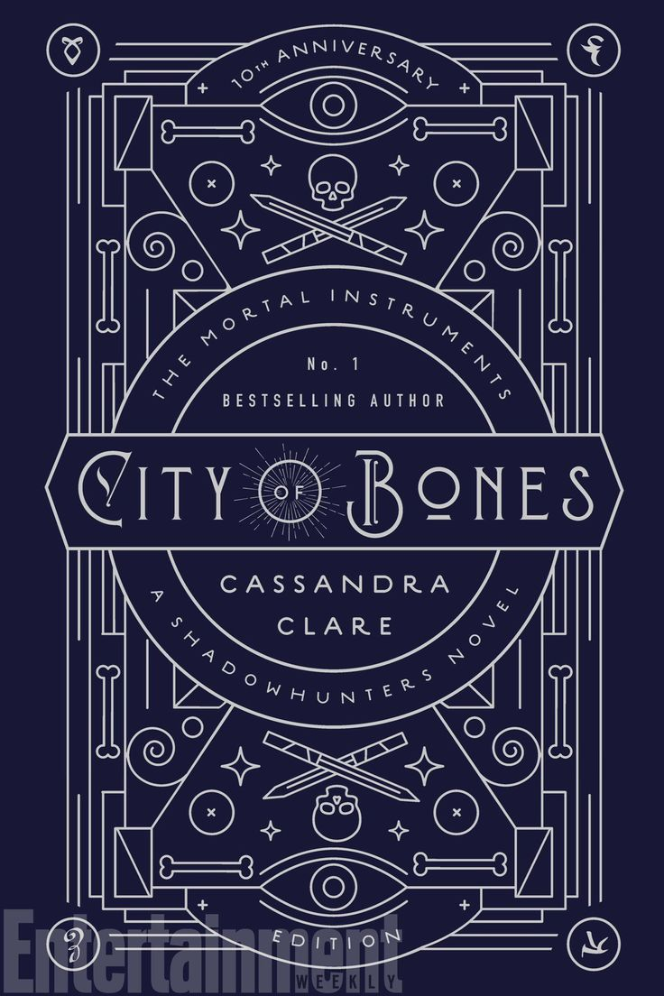 City Of Bones By Cassandra Clare (10th Anniversary Edition)