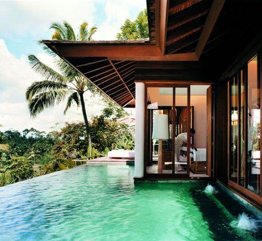 One-bedroom villa at COMO Shambhala Estate. Come take a dip...