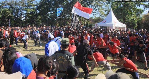 meriah nya Hari kemerdekaan di Desa sesetan Bali