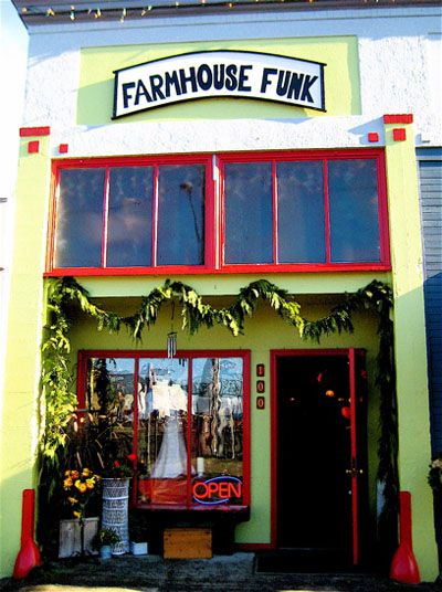 Farmhouse Funk Great Shop in Astoria Oregon