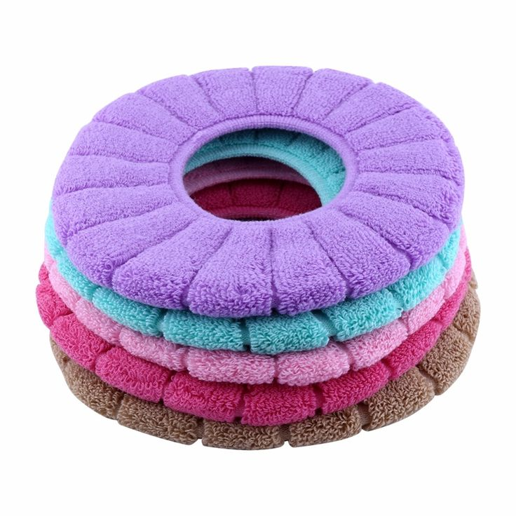2.17$  Know more - 32cm Toilet Seat Cover O-shaped Closestool Lid Fiber Warmer Toilet Seat Cover Cushion Pads For Bathroom Products WC Accessoire   #aliexpressideas