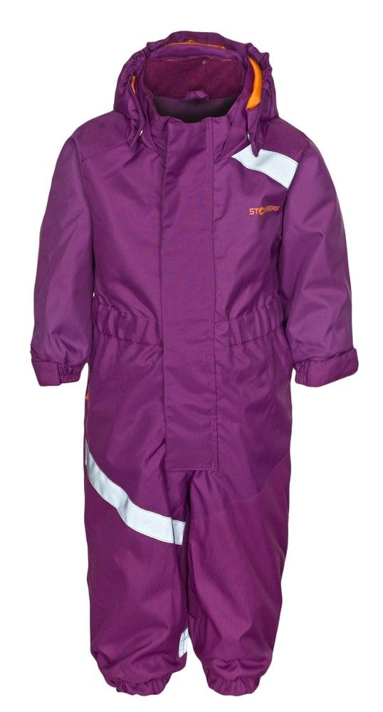 Sprudle overall is windproof and highly water-resistant and suitable for use during both autumn and winter.