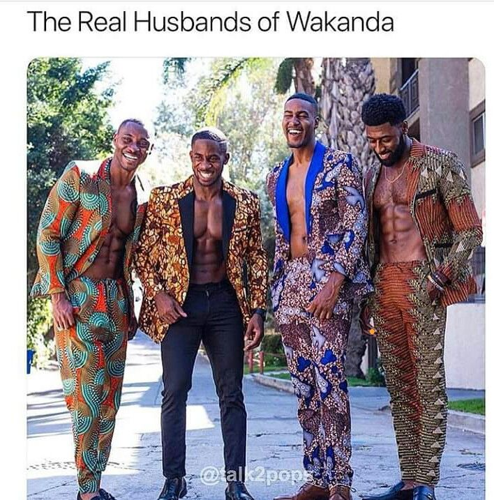 African suits