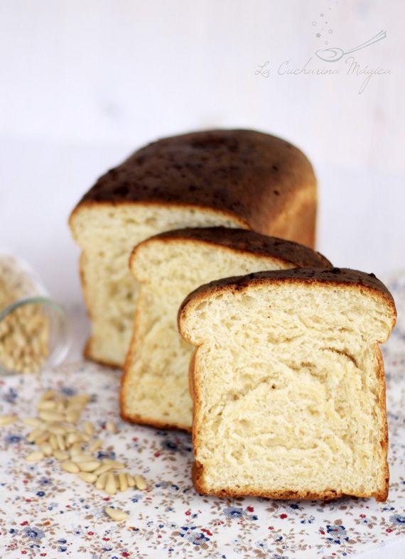Pan de molde blanco | La Cucharina Mágica