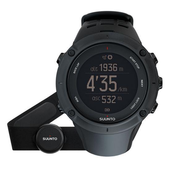 SUUNTO Ambit3 Peak Black HR GPS multisport óra