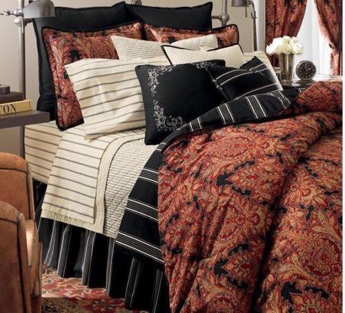 Nip Ralph Lauren Chaps Stanton Full Comforter Set 4pc 329