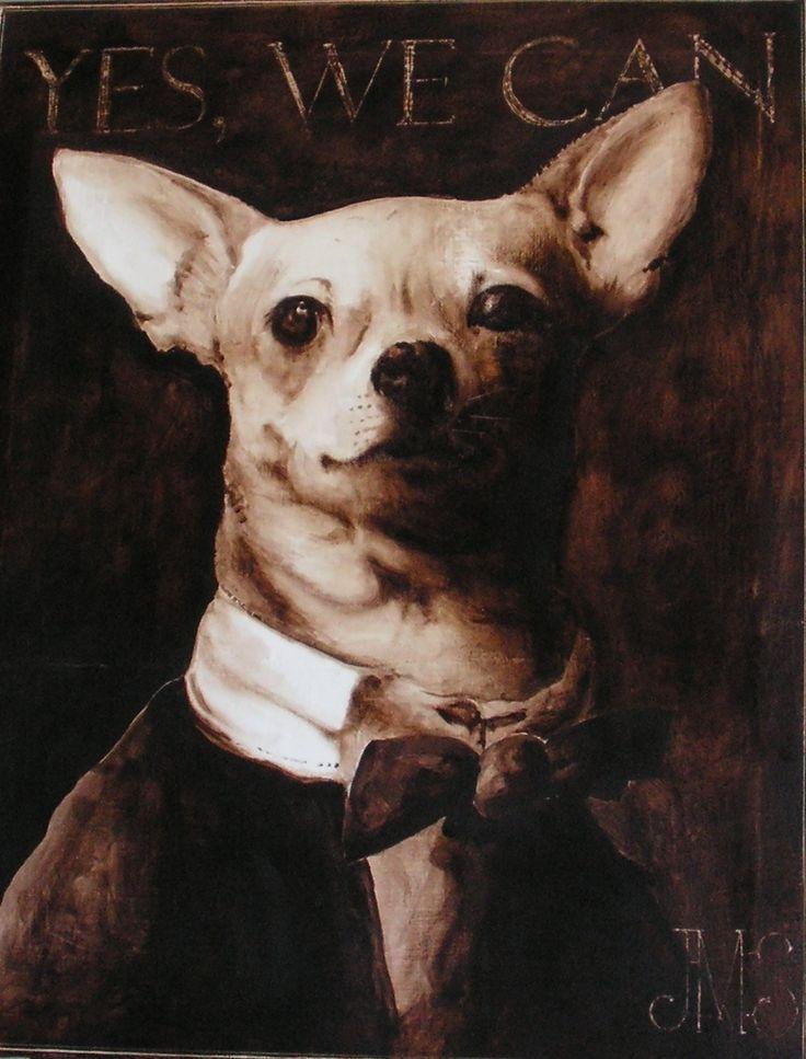 portrait de chien habillé | animals are like us ...